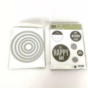 Stampin Up Starburst Sayings & Framelits Set